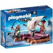 Комплект Плеймобил 6682 - Пирати със сал - Playmobil, 291279