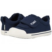 TOMS Doheny - Zappos Exclusive (ToddlerLittle Kid) Navy Canvas