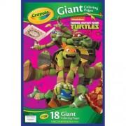 Kids Teenage Mutant Ninja Turtles Tmnt Giant Poster Coloring Book