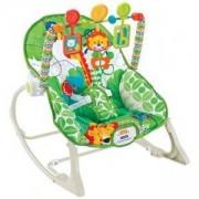 Бебешки шезлонг Baby Jungle - зелен, Cangaroo, 356074