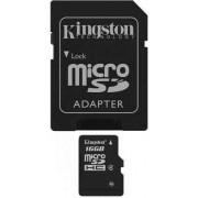 Kingston Trans Flash 16 Gb Scheda Di Memoria 16 Gb Micro Sd / Sdhc Classe 4 Trans Flash 16 Gb