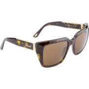 CHOPARD Over-sized Sunglasses(Brown)