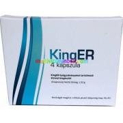 KingER 4 db potencianövelő kapszula Férfiaknak