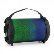 Auna Dr. Bang LED Altavoz con Bluetooth 2.1 40W max, USB, microSD, AUX, batería