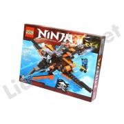 Set de constructie Ninja Masters of Spinjitzu cu 273 piese