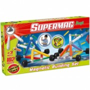 Set constructie Supermag Maxi Wheels 102 piese