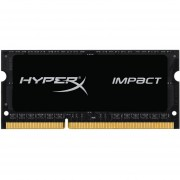Kingston Technology HyperX Impact 4GB 1600MHz DDR3L CL9 SODIMM 1.35V Laptop Memory HX316LS9IB/4 Black