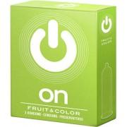 On! Preservativi aromatizzati On! Fruit & Color 3 pezzi