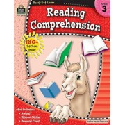 Ready-Set-Learn: Reading Comprehension Grd 3 'With 180+ Stickers', Paperback/Teacher Created Resources