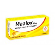 SANOFI SPA Maalox Plus*30 Cpr Mast 200 Mg + 200 Mg + 25 Mg