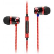 Casti Stereo SoundMAGIC E10C, Microfon (Negru/Rosu)