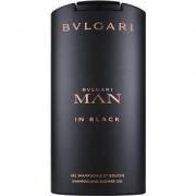 Bvlgari Profumi da uomo Man in Black Shampoo & Shower Gel 200 ml