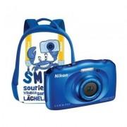 Nikon Aparat NIKON Coolpix W100 Niebieski + Plecak