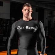 GymBeam Kompresijska majica Spiro Black/White XL