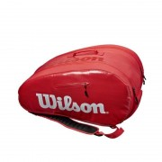 Wilson Super Tour Bag röd