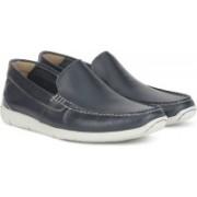 Clarks Karlock Lane Navy Leather Loafer For Men(Navy)