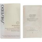 Shiseido Benefiance Pure Retinol Máscara Facial Revitalizante Intensiva 4 Unidades