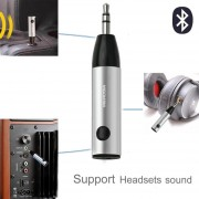 Receptor Bluetooth inalámbrico Mencom 3,5mm Jack Audio Bluetooth Aux adaptador receptor de músi LAN
