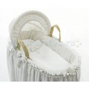 Fiorellino Колыбель Fiorellino Корзина плетёная с капюшоном Premium Baby