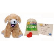 Make Your Own Stuffed Animal Mini 8 Inch Goldie The Labrador Retreiver Kit - No Sewing Required!