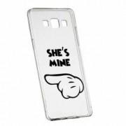 Husa Silicon Transparent Slim Hes Mine 106 Samsung Galaxy Core Prime