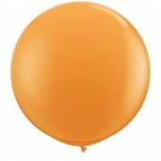Baloane latex Jumbo 3 ft Orange, Qualatex 42736, 1 buc