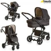 Бебешка комбинирана количка - Atlantic Plus Trio Set Grey Caviar, Hauck, 309100