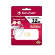 32GB USB Flash Drive, Transcend JetFlash 710, USB 3.0, златиста