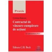 Contractul de vanzare-cumparare de actiuni - Cristian Dutescu