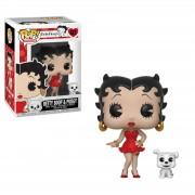 Pop! Vinyl Figura Funko Pop! Betty Boop con Pudgy - Betty Boop