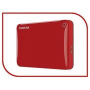 Жесткий диск Toshiba Canvio Connect II 1Tb Red HDTC810ER3AA