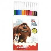 Детски цветни флумастери - Сами в къщи - St.Majewski, 5903235271069
