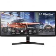"Monitor Gaming LED LG 29"", IPS, UltraWide, UWHD 2K, 1ms, HDMI, DP, USB-C, FreeSync, Negru, 29UM69G"