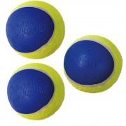 Mingi pentru câini Ultra SqueakAir KONG - Set de 3 mingi