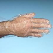 Merkloos 500x Plastic wegwerphandschoenen large transparant