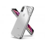 Rearth Etui Ringke Air do Apple iPhone XS Max clear + Szkło Full Glue 5D