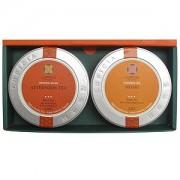 ≪ルピシア≫紅茶の贈り物2缶セット(アフタヌーンティー&白桃)