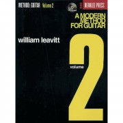 Hal Leonard A Modern Method for Guitar 2 William Leavitt,inkl. CD