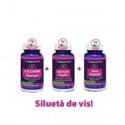 Pachet Cicoare 60cps+Detox Suplu 60cps+Aloe Ferox 60cps HERBAGETICA