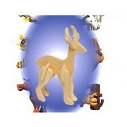 Puzzled - Mini 3D Puzzles - REINDEER (10 Pieces)