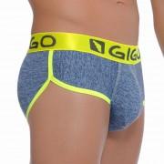 Gigo JASP BLUE Brief Underwear G01090-BLUE