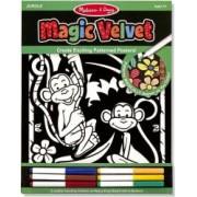 Poster de desenat Catifeaua Magica Jungla Melissa and Doug