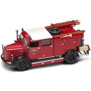 Yat Ming Scale 1:43 - 1950 Mercedes Benz Tlf-50 Fire Engine