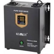 UPS Kemot pentru Centrale Termice SINUS PUR 500W 12V 2 Schuko Afisaj LED