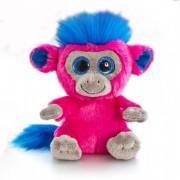 Maimuta de plus Moonlings Keel Toys, 14 cm, Ciclame, 3 ani+