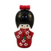 Japonská panenka Kokeshi Benikosode 14 cm