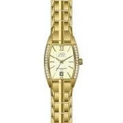 Dámské elegantní hodinky JVD steel J4068.1 s datumovkou 5ATM