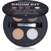 Gosh Brow Kit set para cejas 001 3,32 g