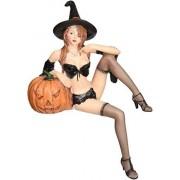 Design Toscano Estatua de Bruja tentadora de Halloween Figura de Bruja Malvada Accesorio de Halloween