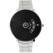 NG Paidu Chakkri Black Dial Stainless Still Belt Analouge Watch For Boys And Girls Watch - For Men Women Watch